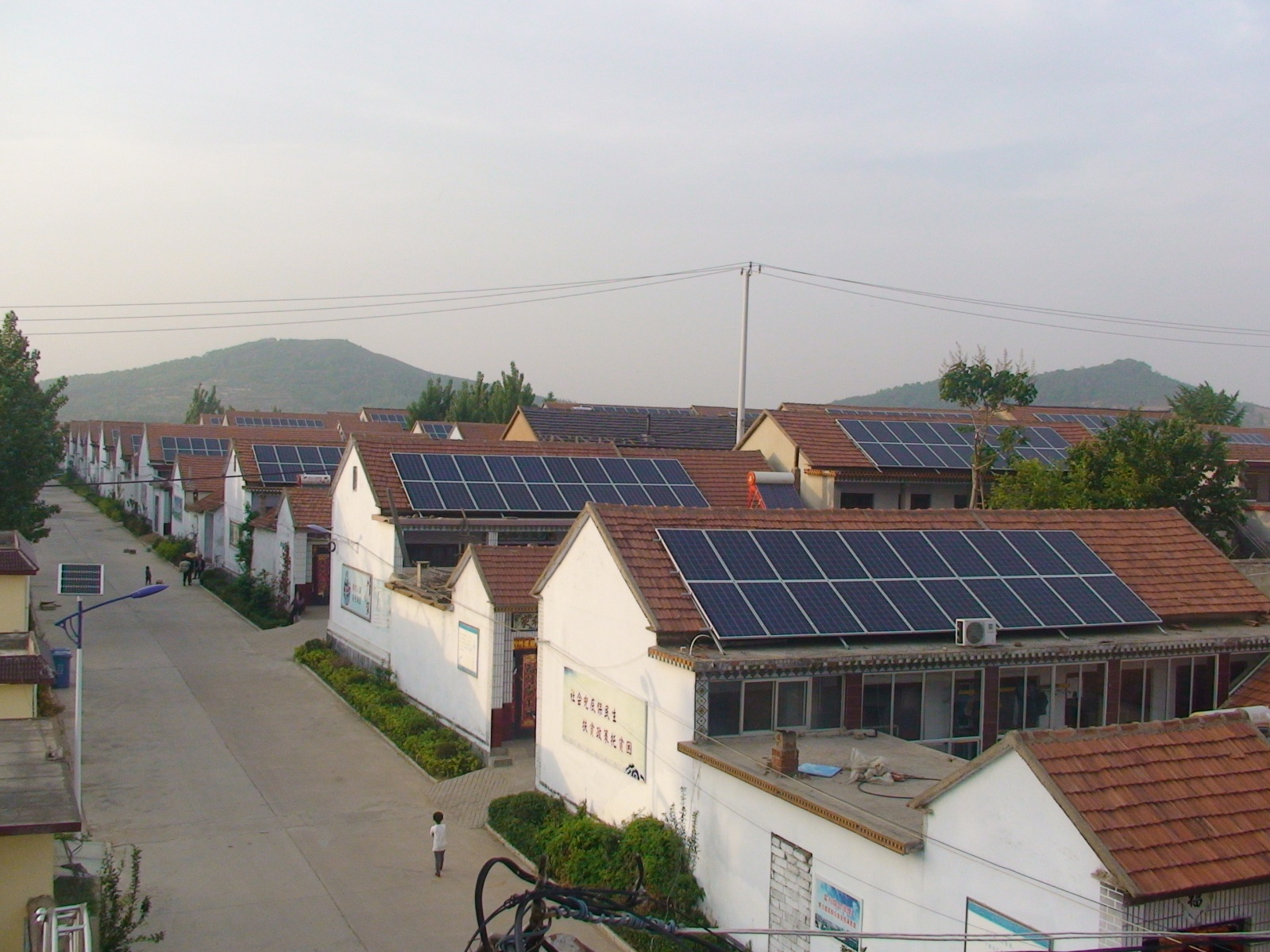 Dongshan Village Residensital Solar PV Power Sytem