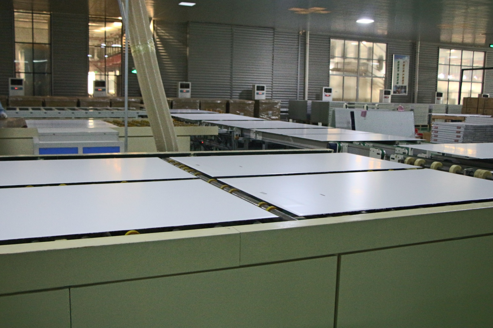 Solar Modules Finshed Lamination