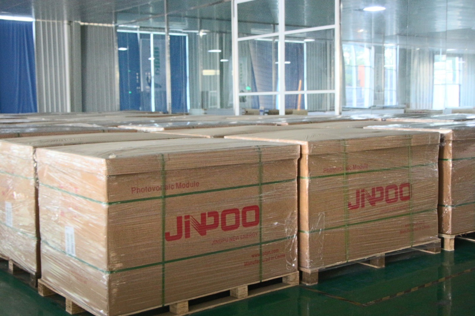Well Packaged Solar Modules