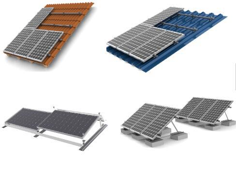 5kw off grid solar system mounting brackets