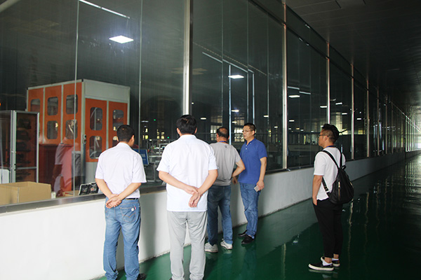 Jinpo Solar PV Panel Visiting