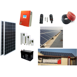 Off Grid Solar Power System Kits for Home - China Jinpo